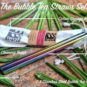 set bubble tea